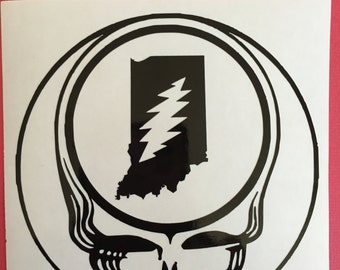 Unique Grateful Dead Decals Related Items Etsy
