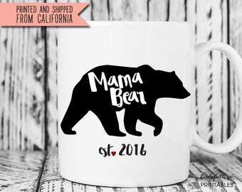 Mother's Day Gift, Mama Bear Mug, New Mom Mug, Mug for Mom, New Mom Gift, Mother's Day Gift, Mama Bear Cup, Personalized Mom Gift 59