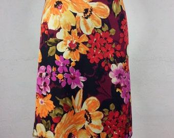 "Snap Around Skirt. ""Classic Garden Blossom"""