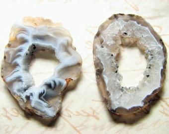 Ashlynd, Geode Slice Pair, large