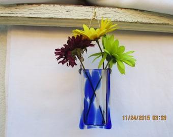 White & Blue Spirit Vase