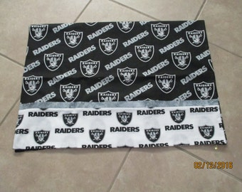 Oakland Raiders pillow cases