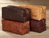 Kamali Leather Shaving Kit with Optional Interior Message