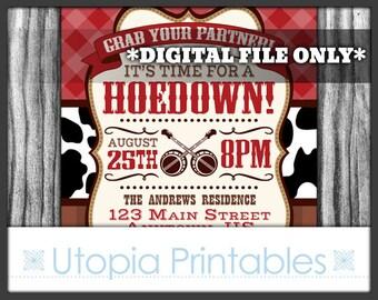 il_340x270.857257229_fjvv hoedown invitation etsy,Hoedown Party Invitations