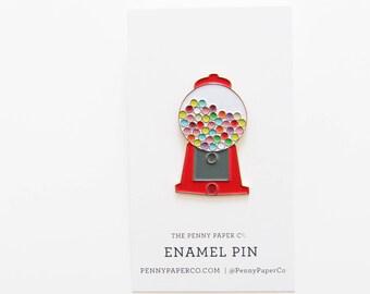 Gumball Enamel Pin