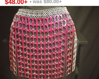 Cut Out Chainmaille Skirt
