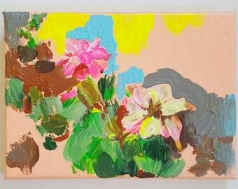 Rose IV Acrylic Painting