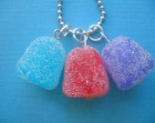 Sugary Gumdrop Charm Necklace