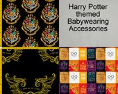 Custom Tula/Kinderpack/SSC/Mei Tai Accessories - Harry Potter inspired - Made to Order