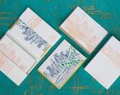 Atlanta - eight letterpress note cards