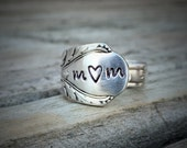 Mom Spoon Ring