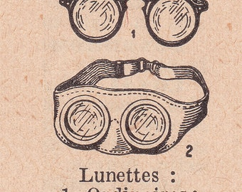 old french dictionary illustration, steampunk image, vintage printable digital image no. 1082.