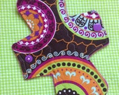 7 inch -light- Cloth Menstrual Pad -- Mama Cloth - Cotton Topped Mama Pad