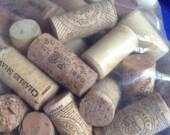 Natural Corks Huge Lot Wine Craft