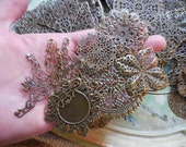 Free Shipping! 100 count Grab Bag Findings Destash Jewelry Supplies filigree Connectors Upcycled Repurpose LOT
