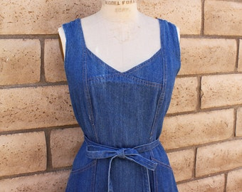 Country Wrap Dress. S-M