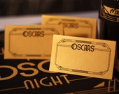 Oscar Party Place Cards – Printable Tent Cards That Match My FREE Oscar Bingo Game