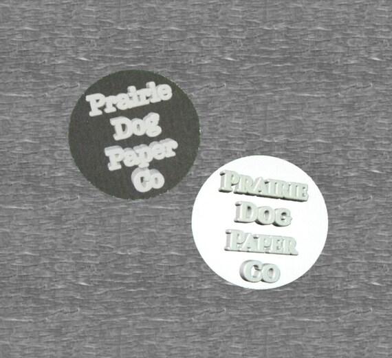 Circle Stickers, 1.5 inch, Business Stickers, Logo Sticker, set of 40, Custom design