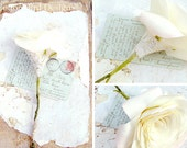 2nd Anniversary Cream Cotton Flower Gift for Her Wife Girlfriend Fiancee Second Wedding Anniversary