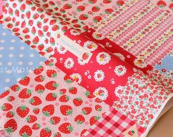 Japanese Fabric Atsuko Matsuyama Sweet Patch - C - 50cm