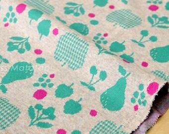 Japanese Fabric Fruit Interlock Knit - A - 50cm