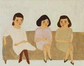 Sisters print 8x10