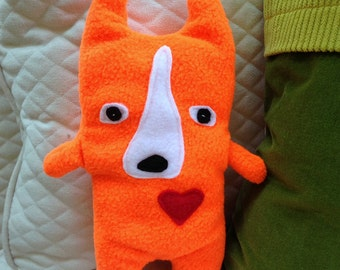 Colton ~ The Corgi Bummlie ~ Stuffing Free Dog Toy ~ Ready To Ship Today