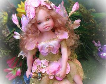 OOAK Child Fairy Sweet Pea Blossom
