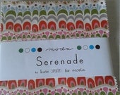 SERENADE by Kate Spain - Moda Fabric Charm Pack - Moda - Five Inch Quilt Fabric Squares - OOP HTF