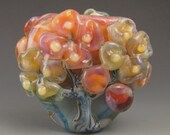 Reserved for edoliveira64.....1 boro/borosilicate handmade artisan lampwork glass bead, Redside Designs, SRA