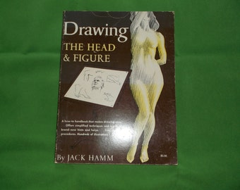 Drawing The Head and Figure Vintage Drawing Book