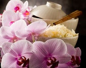 Rice Flower and Shea handmade vegan soap with coconut milk deeply discounted