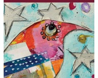 Collage Characters: Exploring Gelli Plates for Colorful Results with Jodi Ohl DVD