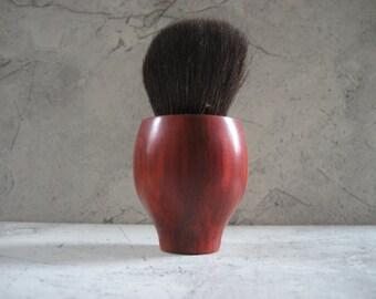 Kabuki Cosmetics Brush (African Coralwood)