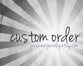 Custom Order for Kristin H Only