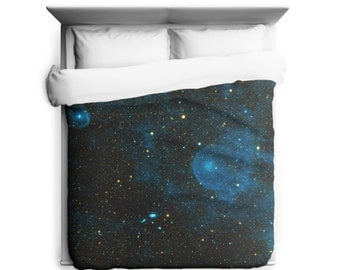 A Runaway Star, Space, Galaxy Duvet Cover - Made in USA