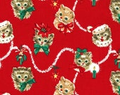 Kitty Garland - From Michael Miller - Red - 1 Yard - 10.95 Dollars