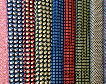 SALE - Shelburne Falls Collection - From Denyse Schmidt - 11 Prints - Half Yard Set - 25.75 Dollars