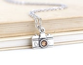 Photographer Gift - Charm Necklace - Camera Necklace - Photography Gift - Camera Jewelry - Gift for Her - Unique Gift