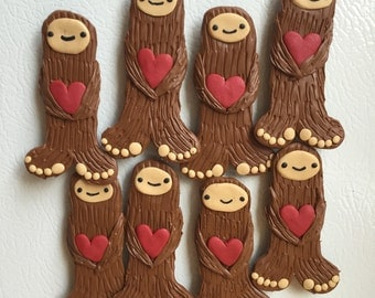 Big love Bigfoot magnet
