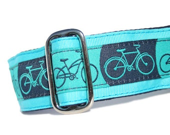 """1.5"""" Dog Collar Bicycles - Choose Your Collar Style!"""