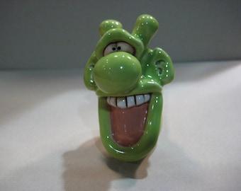 Happy Green Guy pipe  .....