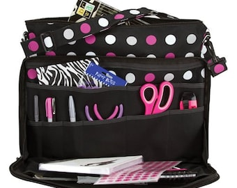 Creative Options,  Creative Options Project Tote, Craft Tote, Crafters Gift, Craft Organizer, Craft Storage, Hobby Storage