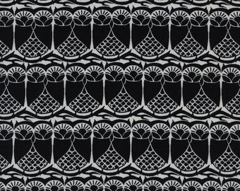 Hoos There fabric by Sarah Watts from black and white 2016