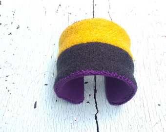 "Nubby Wooly 2"" Adjustable Cuff"