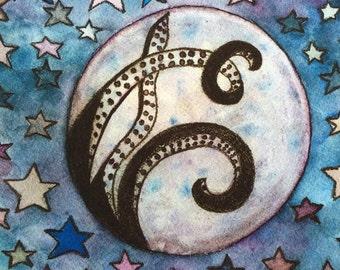 The octopus moon