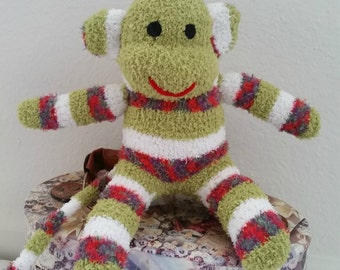 Mason the sock monkey ready to ship