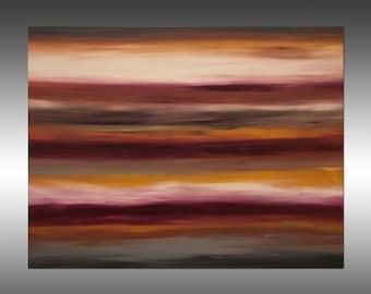 Sunrise 36 - Painting Abstract Painting Art Paintings Original Painting Canvas Sunset Landscape Modern Art Contemporary, Portland, Oregon