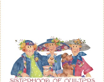 Quilt Label - Sisterhood of Quilters