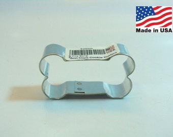 Dog Bone Metal Cookie Cutter 2 Inch